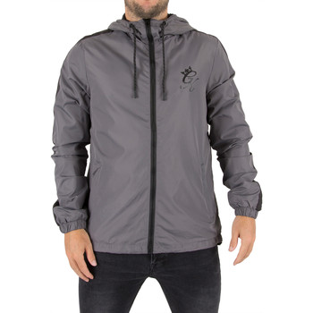 Clothing Men Jackets Gym King Men's Windrunner Logo Jacket, Grey grey