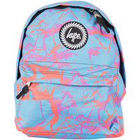 Bags Men Rucksacks Hype Men's Pastel Marble Logo Backpack - Exclusive to Stand-Out, Blu blue