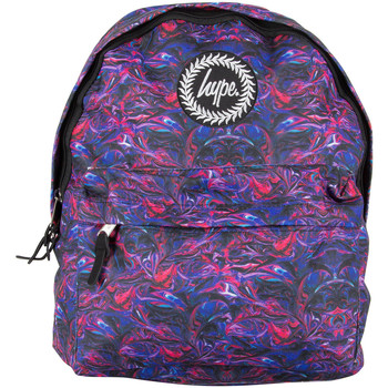 Bags Men Rucksacks Hype Men's Paint Swirls V2 Logo Backpack, Blue blue