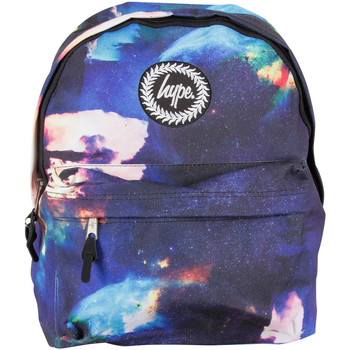 Bags Men Rucksacks Hype Men's Jupiter Space Logo Backpack, Blue blue