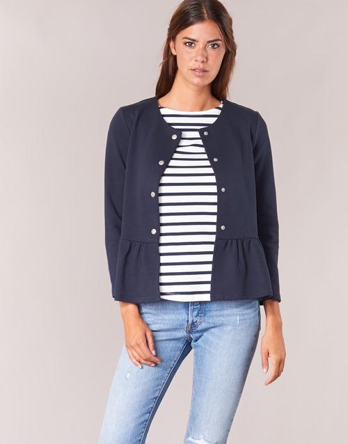 Clothing Women Jackets / Blazers Betty London INNATA Marine