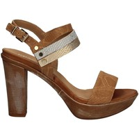 Shoes Women Sandals Igi&co 7856 High heeled sandals Women Brown Brown