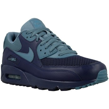 Shoes Men Low top trainers Nike Air Max 90 Essentia Grey-Navy blue