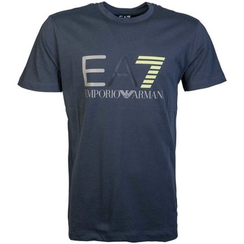 Clothing Men short-sleeved t-shirts Ea7 By Emporio Armani EA7 Emporio Armani T-Shirt 3YPTE9 PJ78Z grey