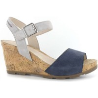 Shoes Women Sandals Stonefly 108286 Wedge sandals Women Blue Blue