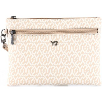 Bags Women Pouches / Clutches Y Not? Y-343 Pochette Accessories Beige Beige