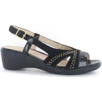 Shoes Women Sandals Stonefly 108238 Sandals Women Black Black