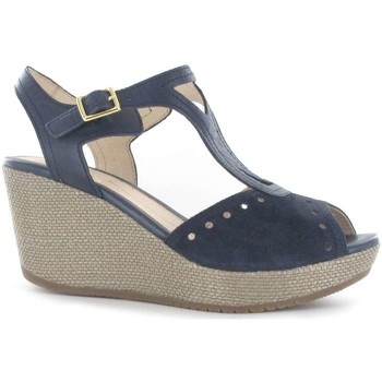 Shoes Women Sandals Stonefly 108311 Wedge sandals Women Blue Blue