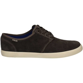 Shoes Men Derby Shoes Clarks 351276 Shoes with laces Man Grey Grey