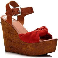 Shoes Women Sandals Guess FLBTT2 SUE01 Wedge sandals Women Arancio Arancio