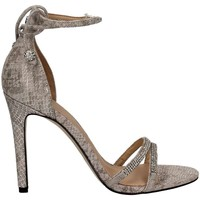 Shoes Women Sandals Guess FLPRI2 LEP03 High heeled sandals Women Silver Silver