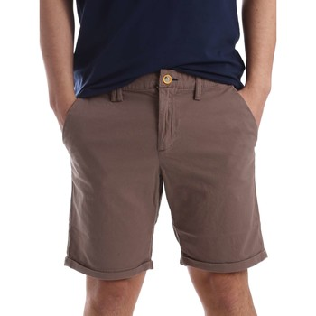 Clothing Men Shorts / Bermudas Gaudi 71FU25040 Bermuda Man Turtledove Turtledove