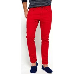 Clothing Men straight jeans Superdry M7004JOF5 Trousers Man Red Red