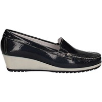 Shoes Women Loafers Enval 7933 Mocassins Women Blue Blue