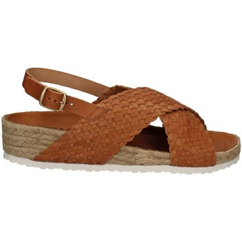 Shoes Women Sandals Keys 5361 Wedge sandals Women Brown Brown