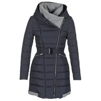 Clothing Women Duffel coats Casual Attitude HAZETTE Marine