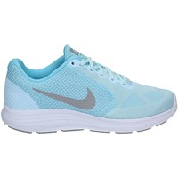 Shoes Women Fitness / Training Nike 819303 Sport shoes Women Blue Blue