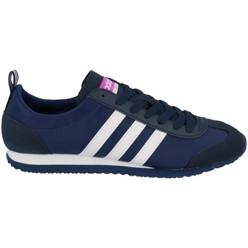 Shoes Women Low top trainers adidas Originals VS Jog W Navy blue