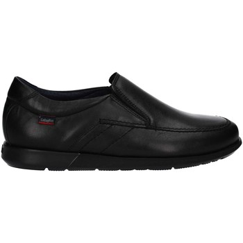 Shoes Men Loafers CallagHan 92655 Mocassins Man Black Black