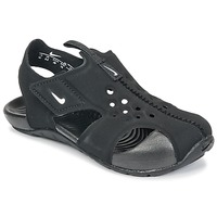 Shoes Boy Sandals Nike SUNRAY PROTECT 2 TODDLER Black / White