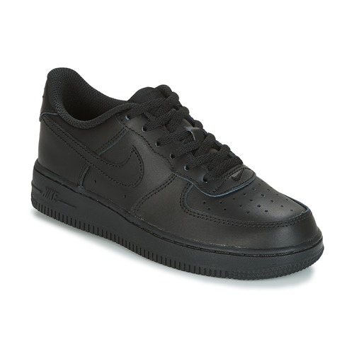 Shoes Children Low top trainers Nike AIR FORCE 1 CADET Black
