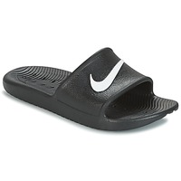 Shoes Men Tap-dancing Nike KAWA SHOWER SLIDE Black / White