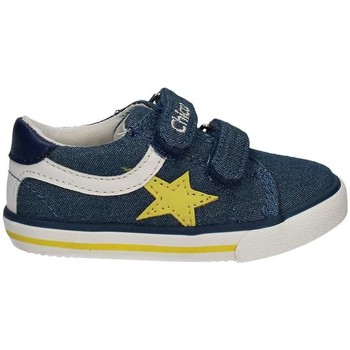 Shoes Boy Low top trainers Chicco 01057502 Scarpa velcro Kid Blue Blue