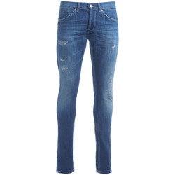 Clothing slim jeans Dondup George blue washed jeans Blue
