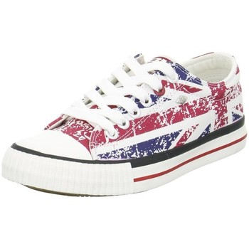 Shoes Low top trainers British Knights Master LO Red