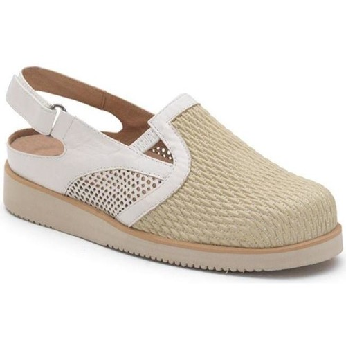 Shoes Women Clogs Calzamedi VERANO PALA ELASTICA BEIGE