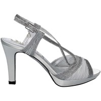 Shoes Women Sandals Osey SA0444 High heeled sandals Women Silver Silver