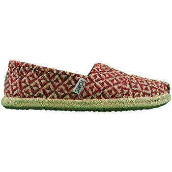 Shoes Women Espadrilles Toms Seasonal Classic Diamond Geo red