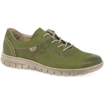 Shoes Women Low top trainers Josef Seibel Steffi 07 Womens Lace Up Shoes green