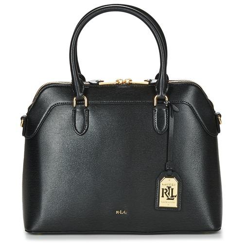 Bags Women Handbags Lauren Ralph Lauren NEWBURY NORA DOME Black