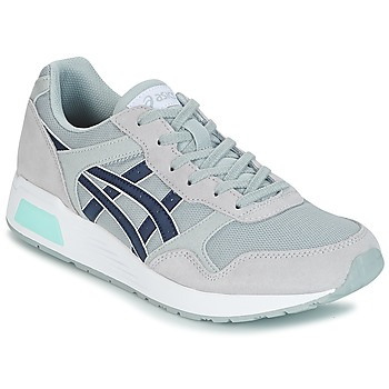 Shoes Men Low top trainers Asics SILVER HERITAGE MESH Grey / Blue
