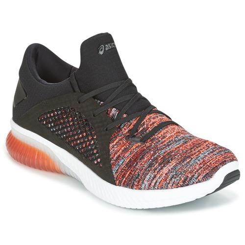 Shoes Men Low top trainers Asics KENUN KNIT Orange / Black