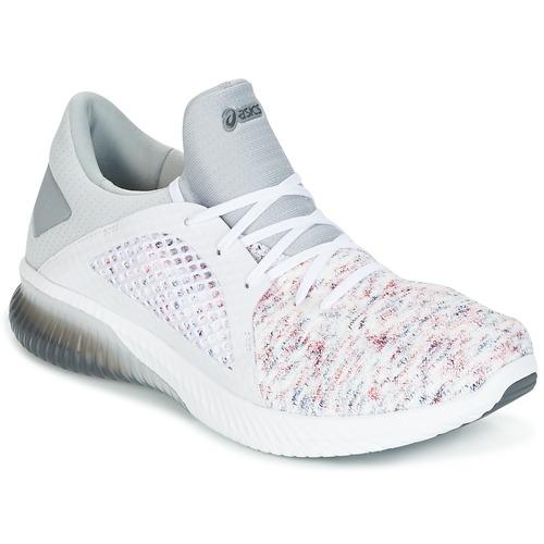 Shoes Men Low top trainers Asics KENUN KNIT White