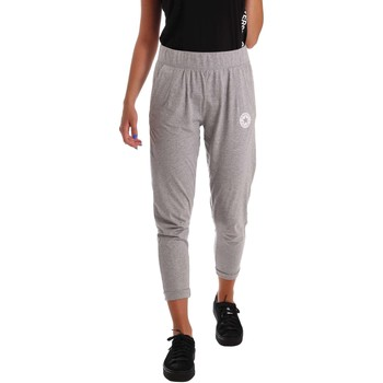 Clothing Women Tracksuit bottoms Converse 10004935 Trousers Women Grey Grey