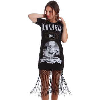 Clothing Women Short Dresses Fornarina BE175L07JG0400 T-shirt Women Black Black