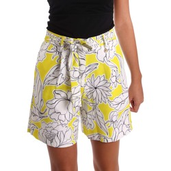 Clothing Women Shorts / Bermudas Y Not? 17PEY003 Shorts Women Yellow Yellow
