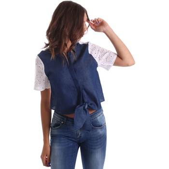 Clothing Women Shirts Y Not? 17PEY072 Shirt Women Blue Blue