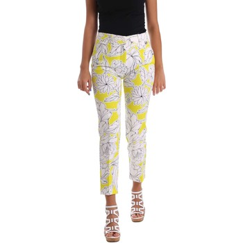 Clothing Women chinos Y Not? 17PEY082 Trousers Women Yellow Yellow