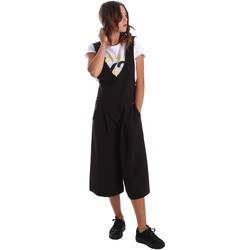 Clothing Women Jumpsuits / Dungarees Y Not? 17PEY093 Salopette Women Black Black