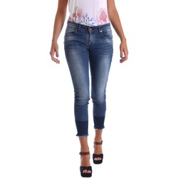 Clothing Women slim jeans Animagemella 17PEA080 Jeans Women Blue Blue