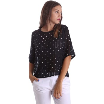 Clothing Women Tops / Blouses Animagemella 17PEA116 Blusa Women Beige Beige