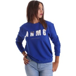 Clothing sweaters Animagemella 17PEA159 Sweatshirt Women Blue Blue