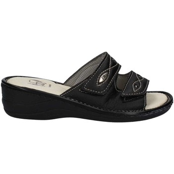 Shoes Women Mules Riposella 7173 Sandals Women Black Black