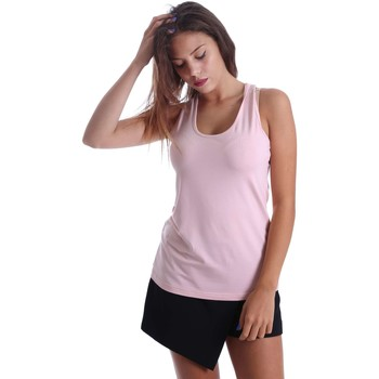 Clothing Women Tops / Blouses Animagemella 17PEA024 Canotta Women Pink Pink