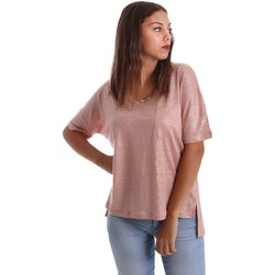 Clothing Women Tops / Blouses Animagemella 17PEA076 T-shirt Women Pink Pink