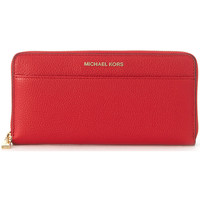 Bags Wallets MICHAEL Michael Kors Michael Kors Mercer wallet in red saffiano leather Red